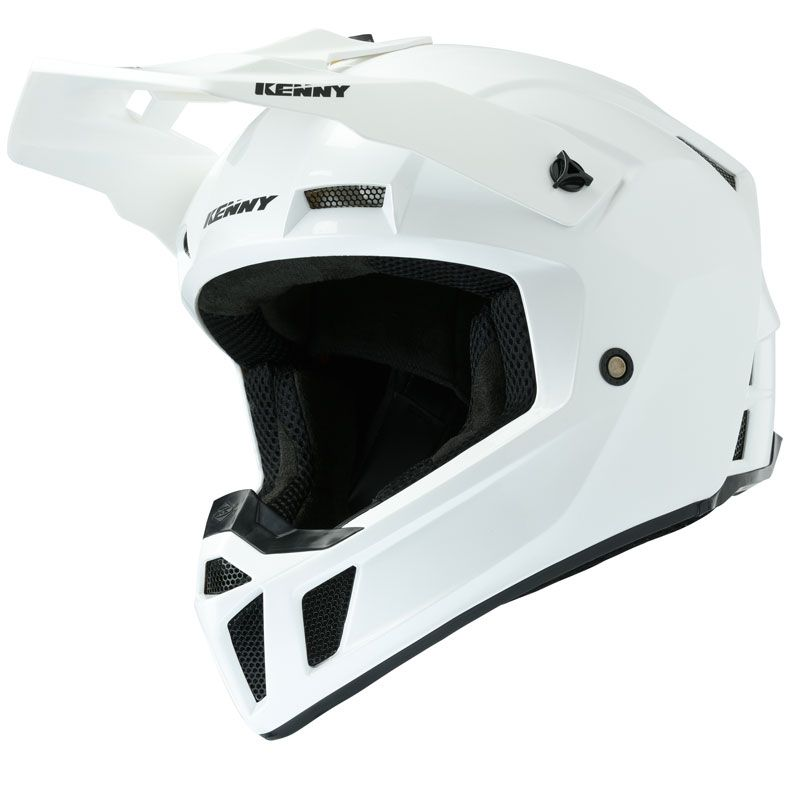 Casque cross Kenny PERFORMANCE PRF - SOLID - WHITE PEARL 2020