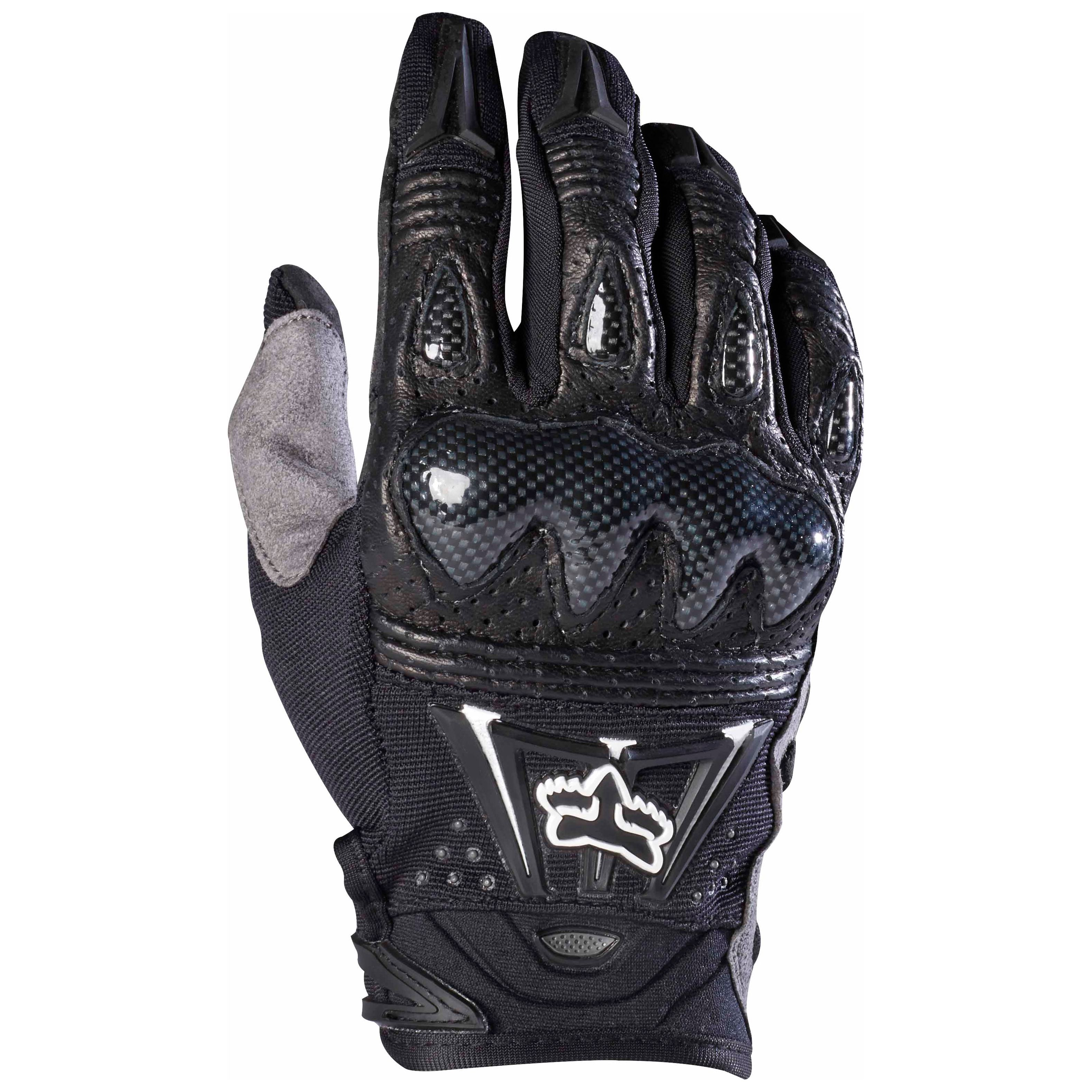 Guanti da cross Fox BOMBER GLOVES BLACK  2019