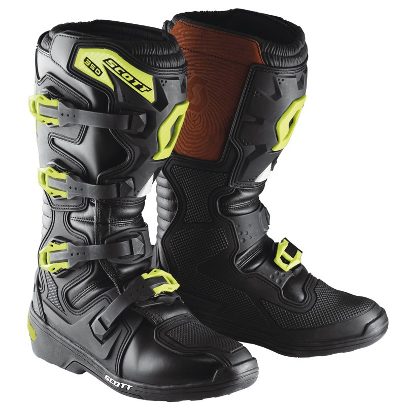 Scott Mx Boot Da 2018 350 Cross Stivali EBq1T