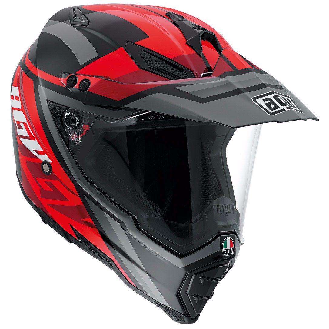 Casco motocross ax-8 evo