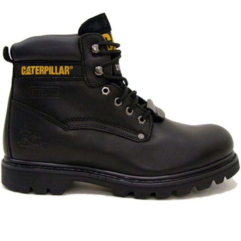 finest selection b82d2 90dc0 Scarpe Caterpillar SHEFFIELD NERO