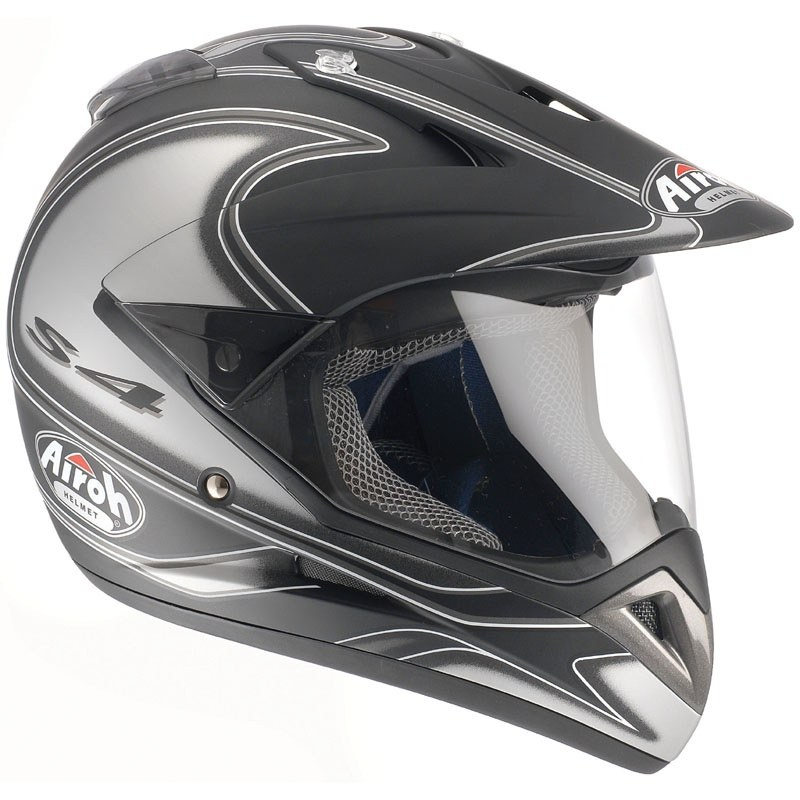 Casco da cross Airoh outlet QUAD S4 DECO ROUND 2008
