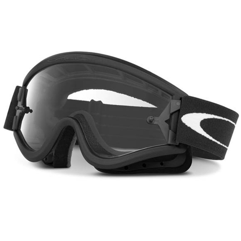 Maschera da cross Oakley L FRAME MX BLACK 2017
