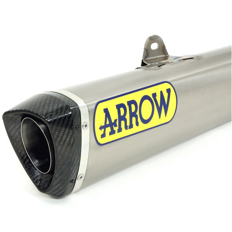 Linea Completa Arrow in titanio Trophy con fondello in carbonio