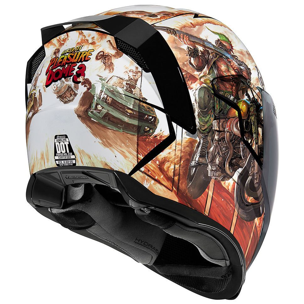 Casque Icon AIRFLITE PLEASUREDOME3