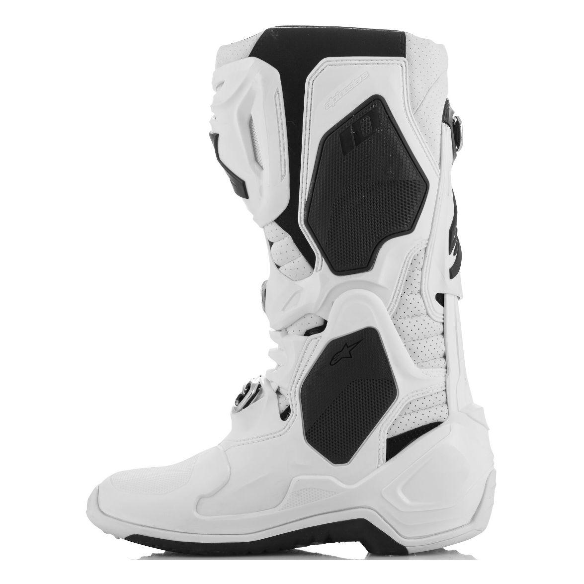 Stivali da cross Alpinestars TECH 10 WHITE 2021 Stivali