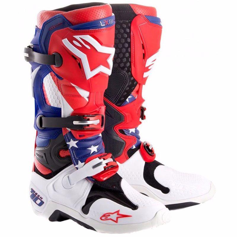 acquisto speciale acquistare data di rilascio: Stivali da cross Alpinestars TECH 10 - Edition Limitée MXON NATION 2017