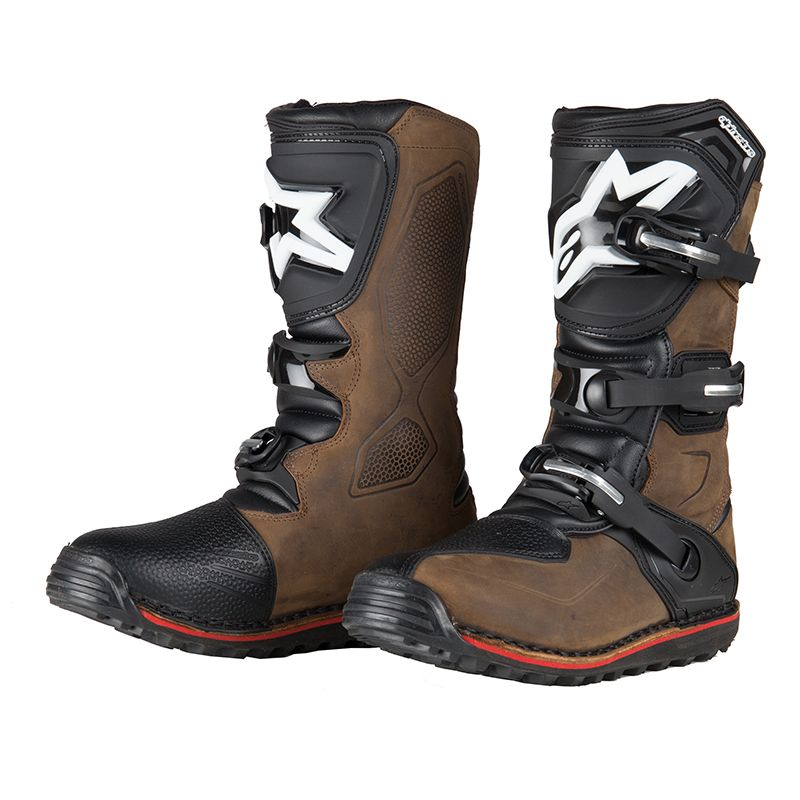 miglior servizio af926 35175 Stivali da cross Alpinestars TECH-T BROWN 2020