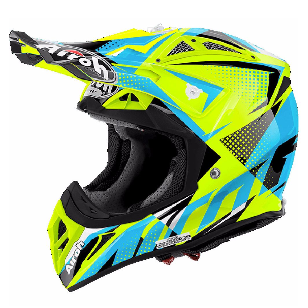 Casco da cross Airoh outlet AVIATOR 2.2 - FLASH  - YELLOW 2017