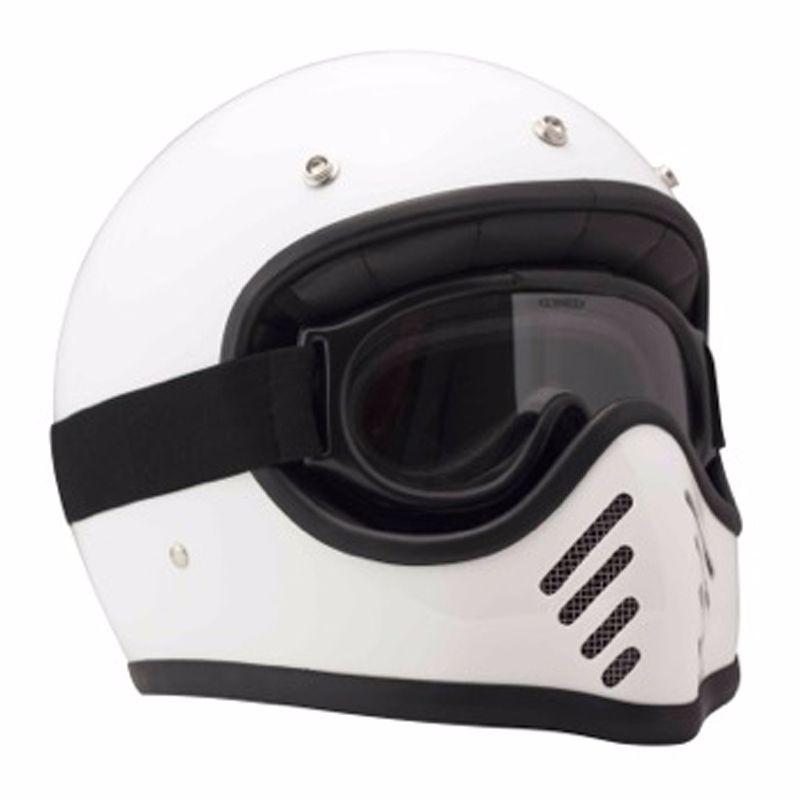 Occhiali da Moto DmD Ghost Goggle trasparente