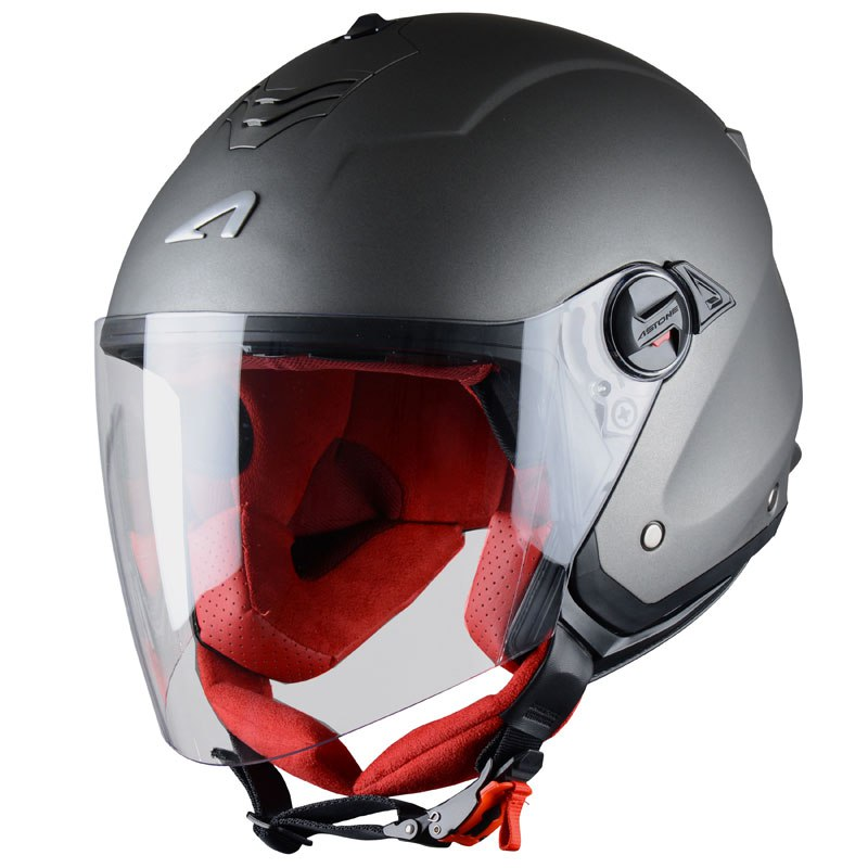 Casco Astone MINIJET S - MONOCOLOR - MATT