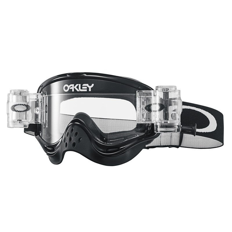 Maschera da cross Oakley O FRAME MX RACE READY  - JET BLACK LENS CLEAR 2021