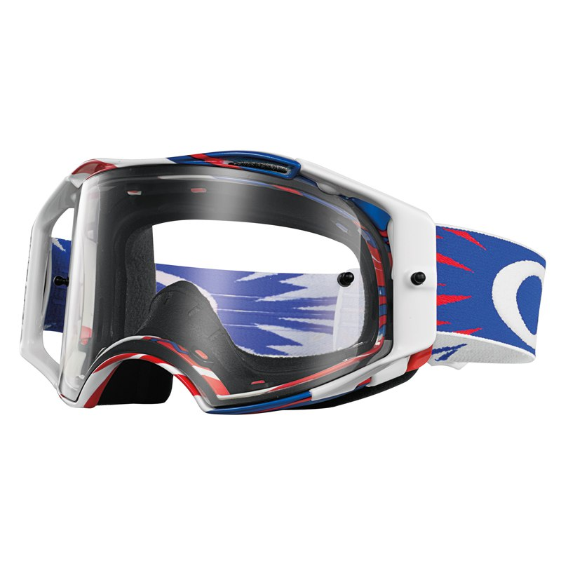 Maschera da cross Oakley outlet AIRBRAKE MX - HIGH VOLTAGE RWB
