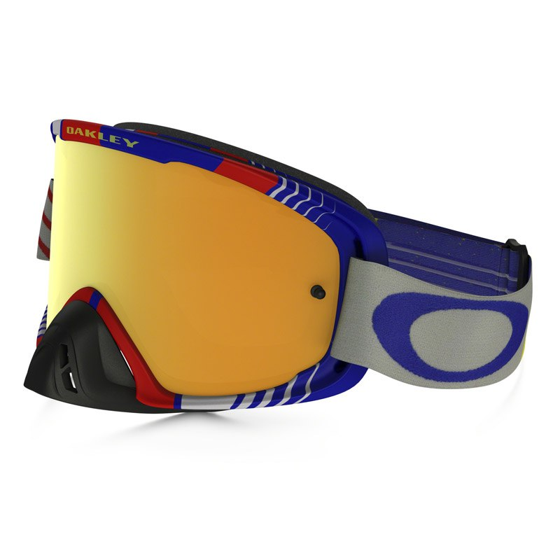 Maschera da cross Oakley O2 MX  - BIO HAZARD RB LENS IRIDIUM + CLEAR 2016