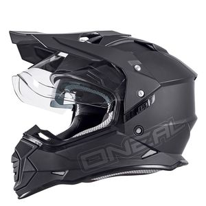 Casque cross O'Neal SIERRA II - FLAT - BLACK MAT