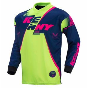 TRACK YOUTH - BLU MARINO/LIME/ROSA FLUO -