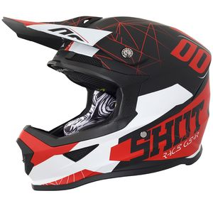 FURIOUS SPECTRE BLACK RED MATT