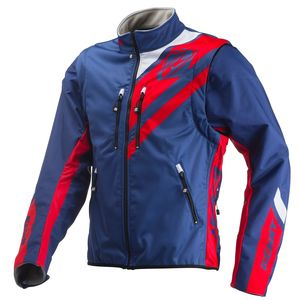 SOFTSHELL ENDURO NAVY RED
