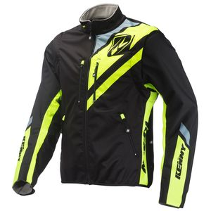 SOFTSHELL ENDURO BLACK NEON YELLOW