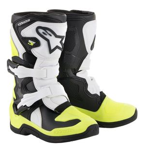TECH 3S KIDS - BLACK WHITE YELLOW FLUO ENFANT