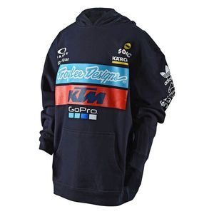 TLD KTM TEAM YOUTH PULLOVER FLEECE NAVY