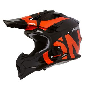 2 SERIES RL YOUTH - SLICK - BLACK ORANGE