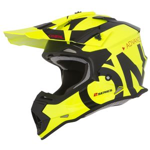 2 SERIES RL YOUTH - SLICK - NEON YELLOW BLACK