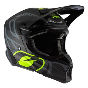 10 SERIES - CARBON RACE - BLACK NEON YELLOW MATT