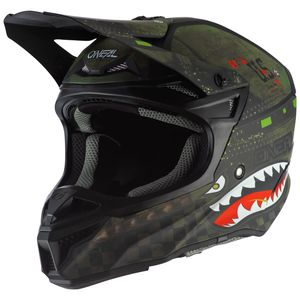 5 SERIES - WARHAWK - BLACK GREEN MATT