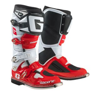 SG12 WHITE RED BLACK