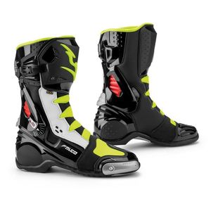 ESO RACE BLACK WHITE RED FLUO