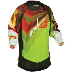 EVO JERSEY GREEN/RED