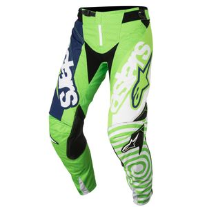 TECHSTAR VENOM GREEN FLUO WHITE DARK BLUE