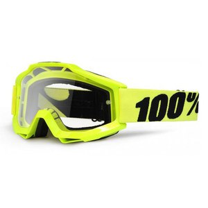 ACCURI YOUTH - FLUO YELLOW CLEAR LENS