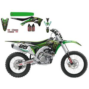 Kawasaki Replica Team Monster energy