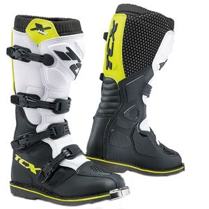X-BLAST - WHITE BLACK YELLOW FLUO