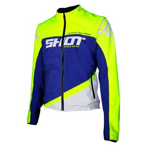SOFTSHELL LITE - BLUE NEON YELLOW