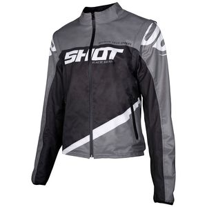 SOFTSHELL LITE - GREY BLACK