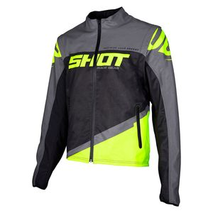 SOFTSHELL LITE - GREY NEON YELLOW