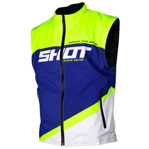 BODYWARMER LITE - BLUE NEON YELLOW