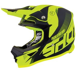 FURIOUS ULTIMATE - BLACK NEON YELLOW MATT
