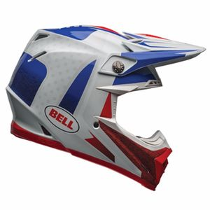 MOTO-9 CARBON FLEX - VICE BLUE/RED