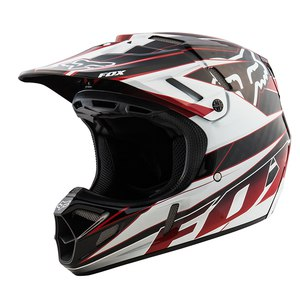 V4 RACE BLACK/RED