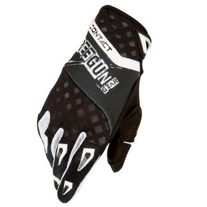 CONTACT FREAK GLOVE NERO BIANCO