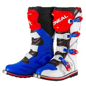 RIDER BOOT BLUE RED WHITE