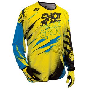 DEVO CAPTURE JERSEY GIALLO BLU