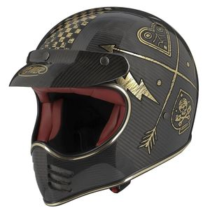 MX - CARBON - NX GOLD CHROMED