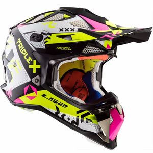 MX470 SUBVERTER TRIPLEX BLACK / PINK / H-V YELLOW
