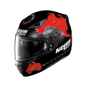 N60.5 - GEMINI - REPLICA C.CHECA - FLAT BLACK RED