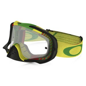 CROWBAR MX  - BIO HAZARD RASTA LENS CLEAR